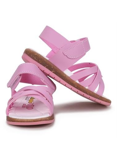 Kiko Kids  Şb 2722-27 Bebe Orto Pedik Kız Çocuk Sandalet Terlik Pembe